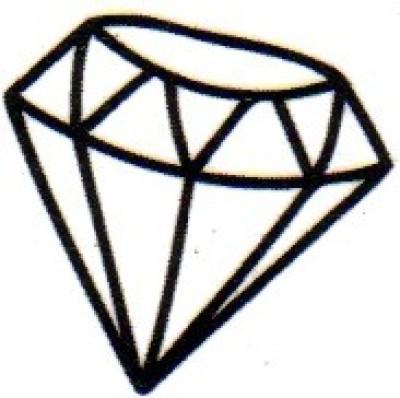 Smilendeal T1642 Removeable Temp Body Tattoo - Diamond Style