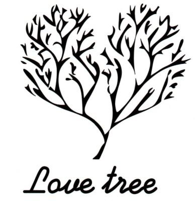 Smilendeal T2165 Love Tree Temp Body Tattoo - Black(Love Tree)