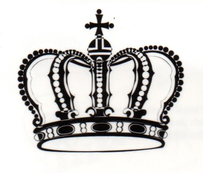 Smilendeal T1564 Removeable Temp Body Tattoo - Crown Style