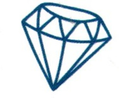 Smilendeal T1643 Removeable Temp Body Tattoo - Diamond Style