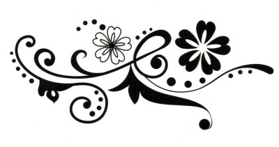 Smilendeal T1586 Removeable Temp Body Tattoo - Her Style