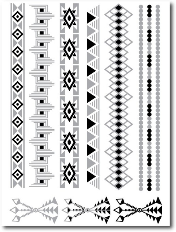 Gumtoo The Hunter - Metallic Temporary(Jewelry Tattoos)