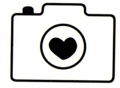 Smilendeal T1679 Removeable Temp Body Tattoo - Camera Style