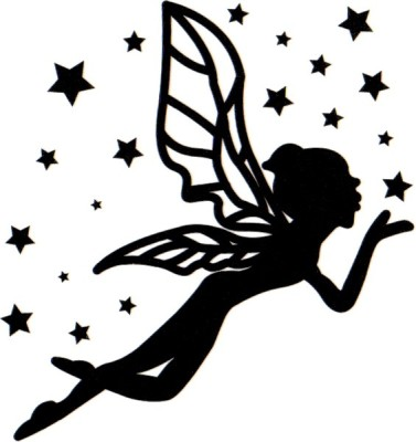 Smilendeal T1628 Removeable Temp Body Tattoo - Angel Style