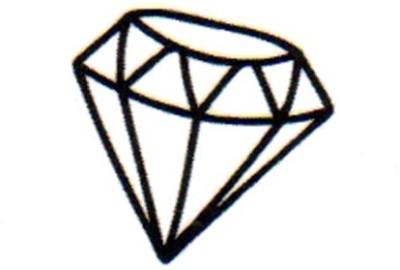 Smilendeal T1645 Removeable Temp Body Tattoo - Diamond Style