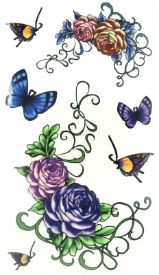 London Jewels Temporary Tattoos