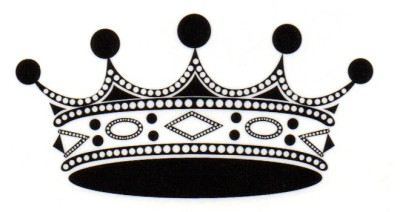 Smilendeal T1572 Removeable Temp Body Tattoo - Crown Style