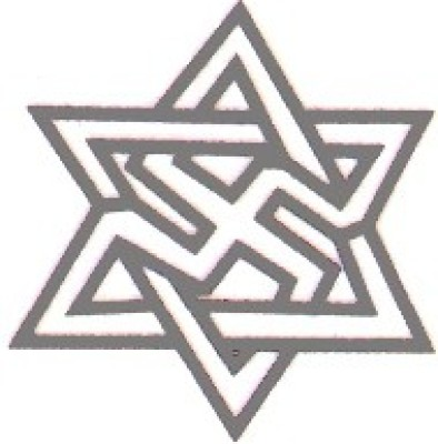 Smilendeal T1656 Removeable Temp Body Tattoo - Star Style