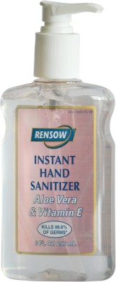 Rensow Instant Hand Sanitizer 8 Oz / 236ml