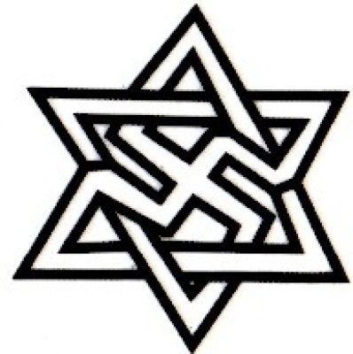 Smilendeal T1655 Removeable Temp Body Tattoo - Star Style