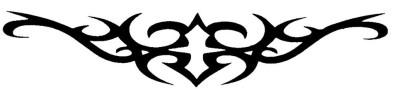 Smilendeal T2065 Smart Temp Body Tattoo - Black(Smart)