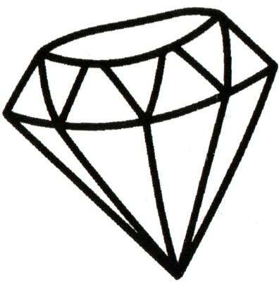 Smilendeal T2059 Diamond Temp Body Tattoo - Black(Diamond)