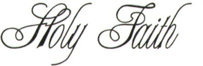 Smilendeal T1544 Removeable Temp Body Tattoo - Holly Faith Style