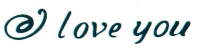 Smilendeal T2045 Love Temp Body Tattoo - Green(Love)