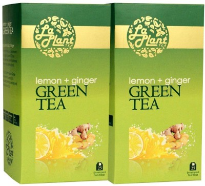 LaPlant Lemon, Ginger Tea Green Tea