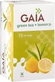 GAIA Lemon Green Tea (25 Sachets, Box)