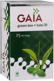GAIA Tulsi Green Tea (25 Sachets, Box)