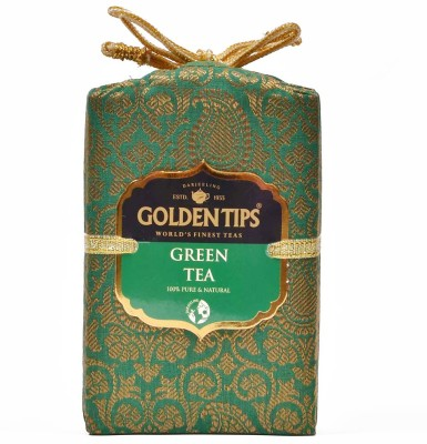 Golden Tips Pure Tea Green Tea(100 g, Pouch)