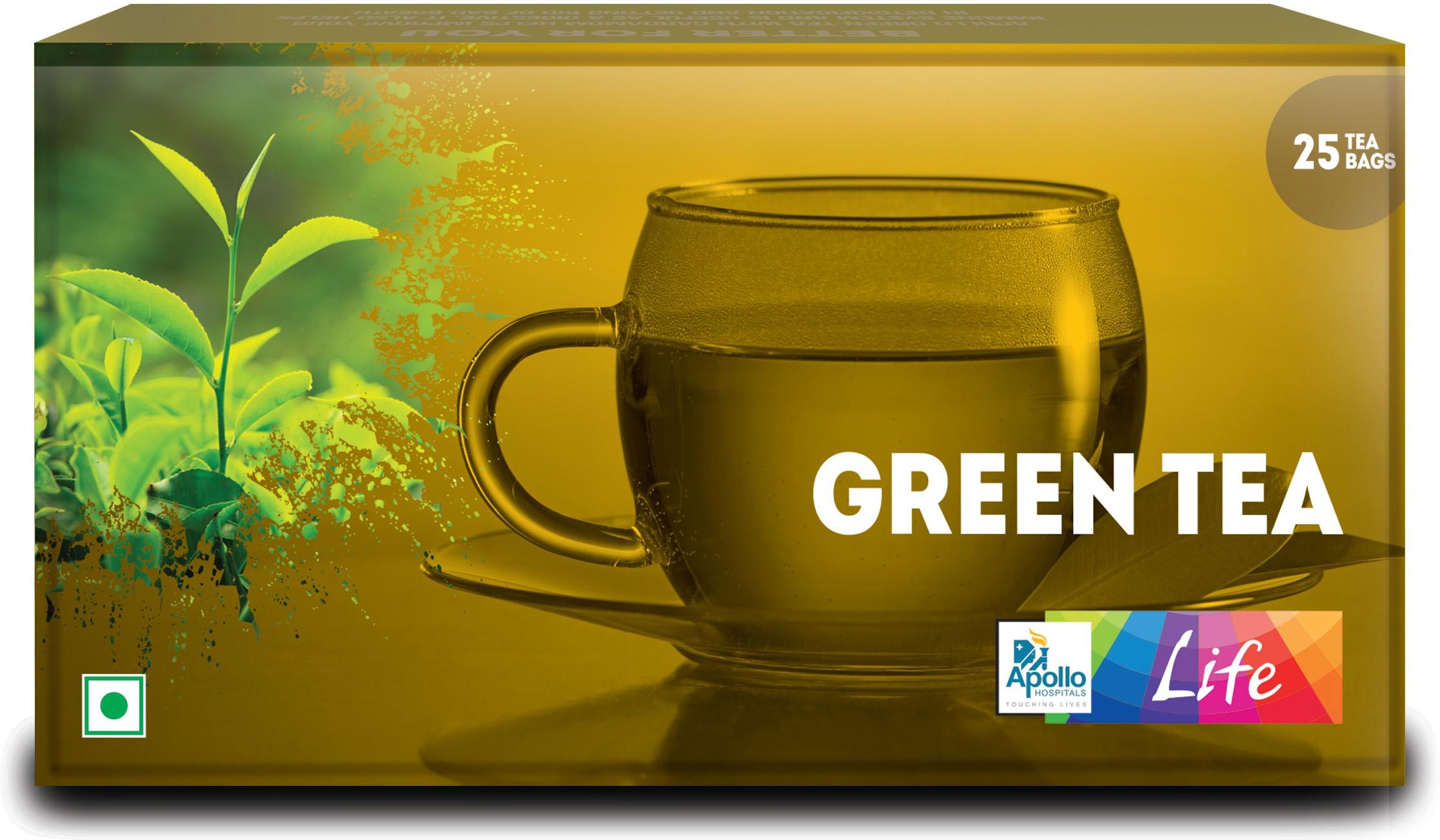 Apollo Pharmacy LIfe Green Tea