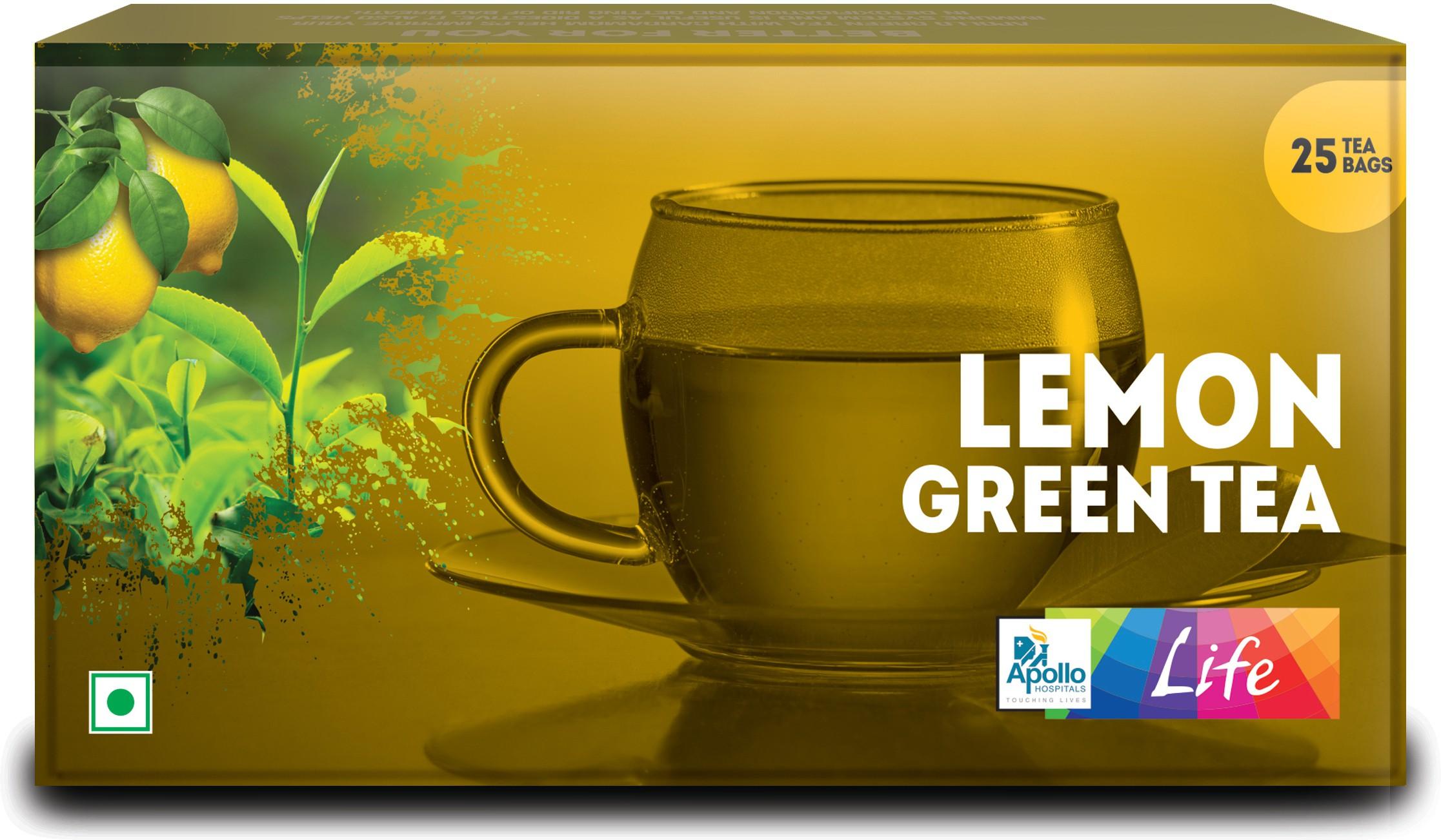 Apollo Pharmacy Lemon Green Tea