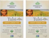 Organic India Lemon Flavored Tea(18 Sachets, Box)