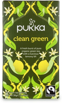 Pukka Lemon Tea Herbal Infusion