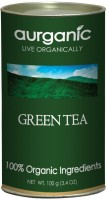 Aurganic Unflavoured Green Tea(100 g, Can)