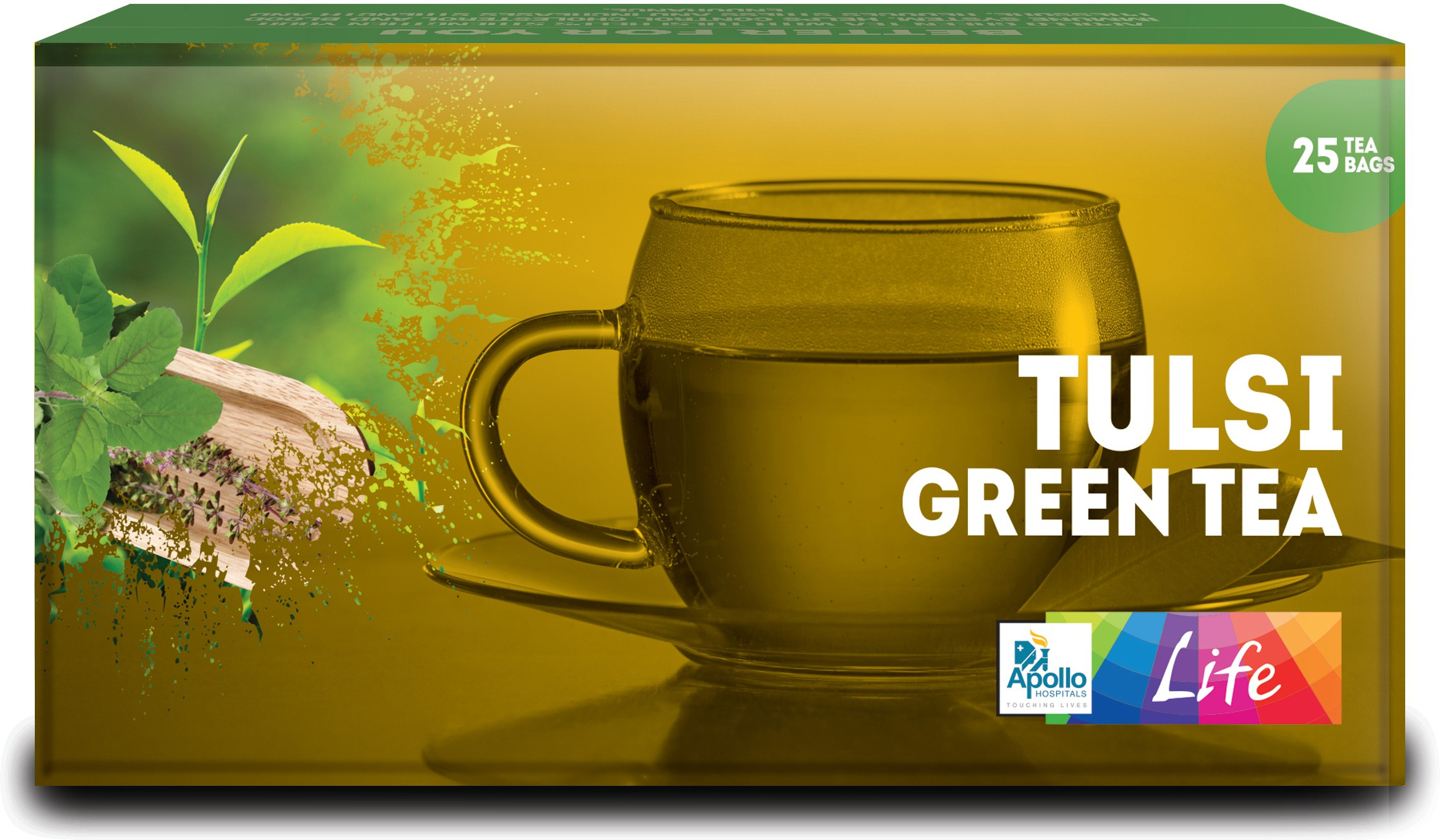 Apollo Pharmacy Tulsi Green Tea