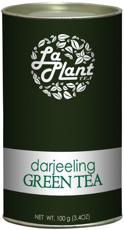 LaPlant Darjeeling, Long Leaf – 100 gm Green Tea