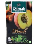 Dilmah Peach Black Tea (50 g, Box)
