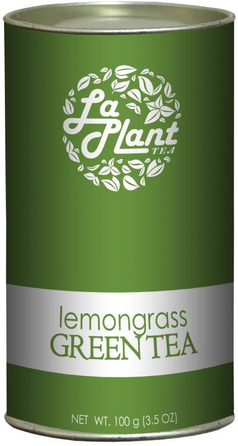 LaPlant Lemongrass Long Leaf – 100 gm Green Tea