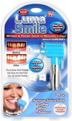Prostuff Luma Tooth Polisher Whitener Stain Remover with LED Light Teeth Whitening Pen(0 ml)