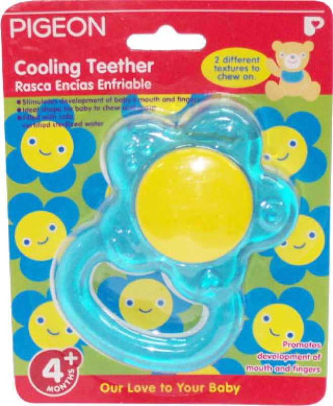 Pigeon Cooling Teether - Flower Teether(Blue)