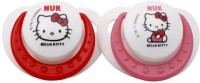 Nuk Hello Kitty Orthodontic Silicone Pacifiers Pacifier(Red, Pink)