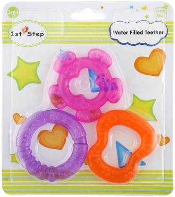 1st Step Water Filled Teether 3pcs Pack Teether
