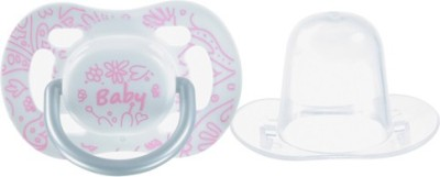 Tollyjoy Orthodontic Pacifier~Pink Soother