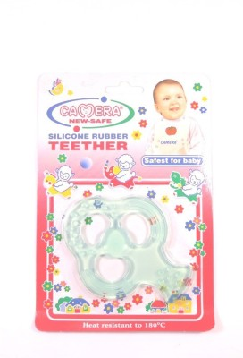 Camera Baby Corporation Camera New-Safe Silicon Rubber Teether(22651) Teether