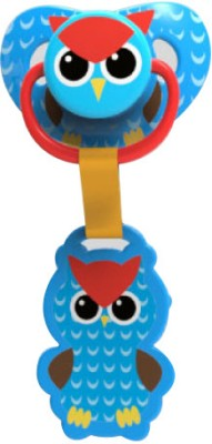 1st Step Skittle Pacifier With Holder Pacifier