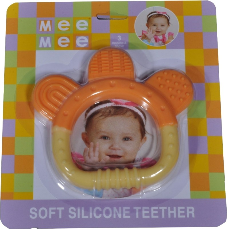Mee Mee Colourful Teether Teether(Orange)