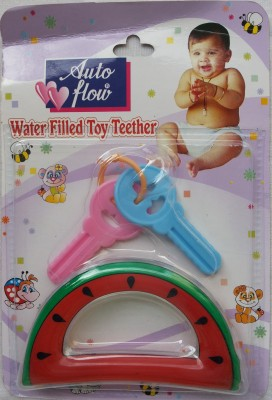 Love Baby Auto Flow Water Filled Toy Teether - Watermelon Teether
