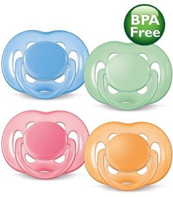 Philips Avent BPA Free Contemporary Freeflow Pacifier Soother