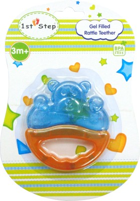 1st Step Gel Filled Rattle Teether Teether