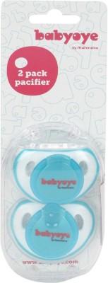 Babyoye Twin Pack Soothers-Blue Teether