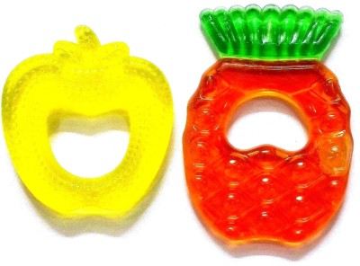 Out Of Box Imported Pack of 2 Baby Silicon Cooling Teether