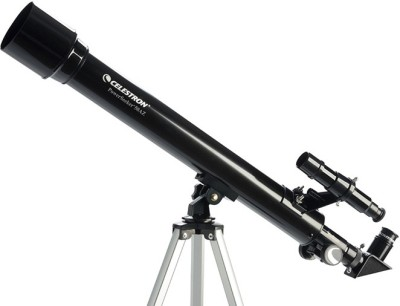 Celestron PowerSeeker 50AZ Refracting Telescope(Manual Tracking) at flipkart