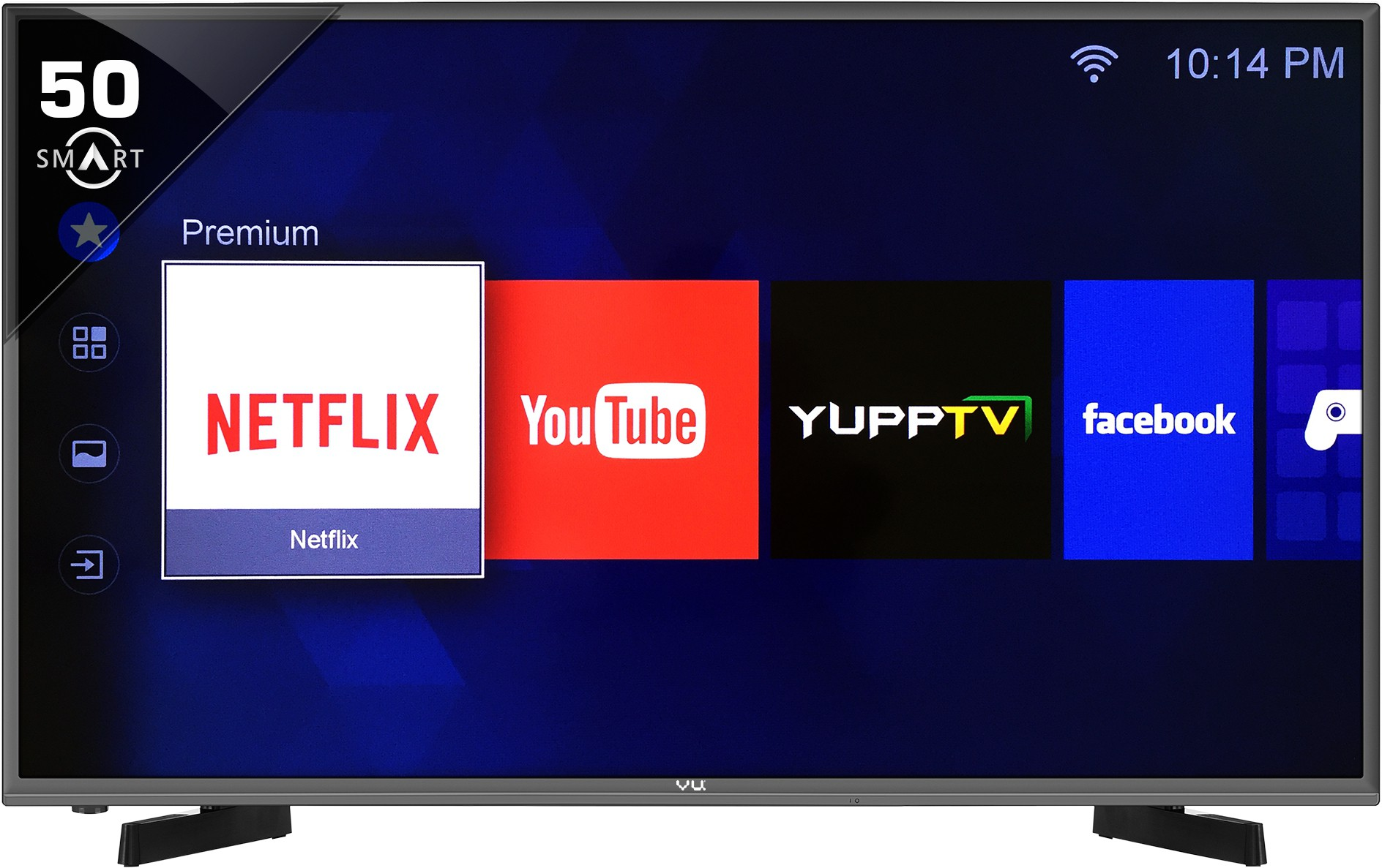 View Vu 127cm (50) Full HD Smart LED TV Price Online(Vu)