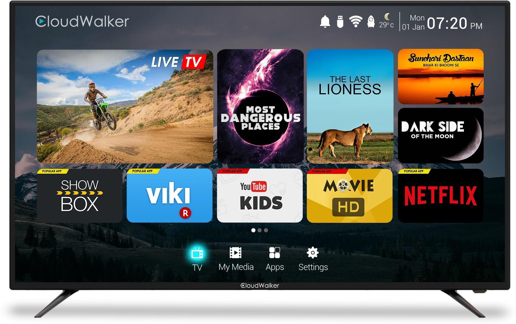 CLOUDWALKER 65SUC 65 Inches Ultra HD LED TV
