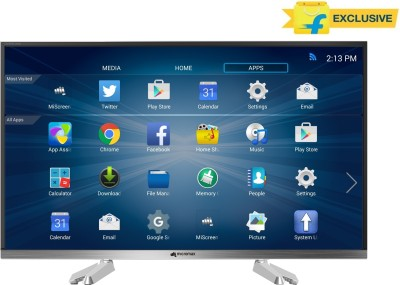 Micromax 81cm (32) HD Ready Smart LED TV (32 CANVAS, 3 x HDMI, 3 x USB)