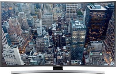 SAMSUNG 102cm  40  Ultra HD  4K  Smart, Curved LED TV 40JU6670, 4 x HDMI, 3 x USB  available at Flipkart for Rs.89900