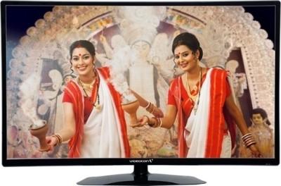 Videocon 54.6cm (22) Full HD LED TV (VKC22FH-ZM, 2 x HDMI, 2 x USB)